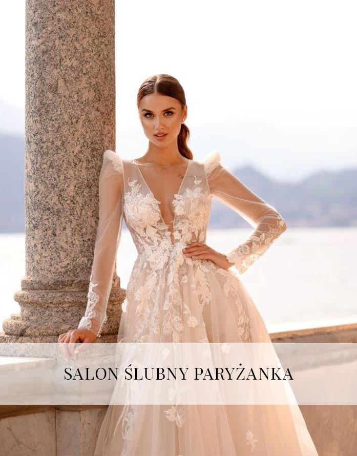 6e57aa8d6b Salon ślubny Paryżanka
